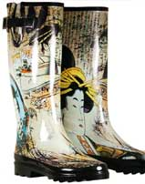 Geisha Rain Boots By Chooka