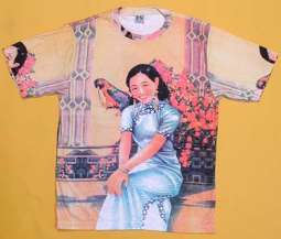 Girl With Parrot Shirt - Short Sleeves