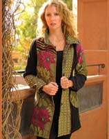 Hawaian Garden Coat, Designed In France