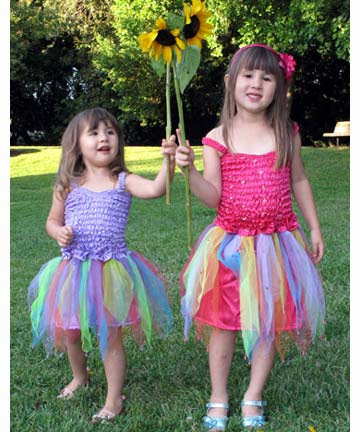 Fairy Tutu Dresses In Pastel Colors