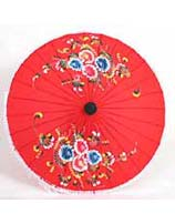 Small Asian Cloth Parasol from Thailand