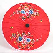 asian parasols and umbrellas